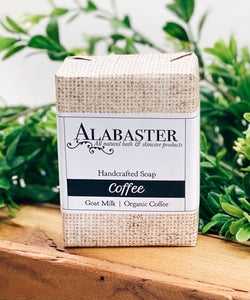 Alabaster: Soap: Coffee