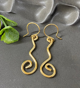 Chad Miller Metalsmith: Squiggle Gold Filled
