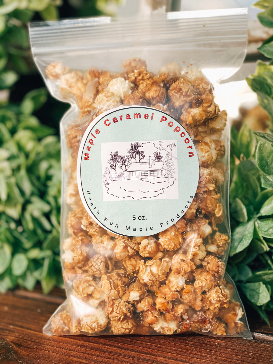 Maple Caramel Pocorn