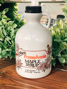 Pennsylvania Maple Syrup: One Quart