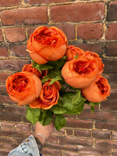 Load image into Gallery viewer, Orange Cabbage Rose