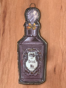 Hanging Drink Me Potion From Alice In Wonderland
