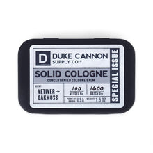 Load image into Gallery viewer, Duke Cannon Vetiver +Oakmoss Cologne Balm