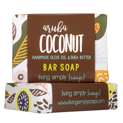 Aruba Coconut Bar Soap