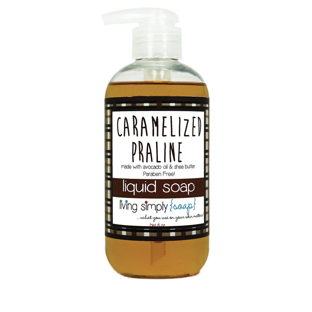 Caramelized Praline Liquid Soap