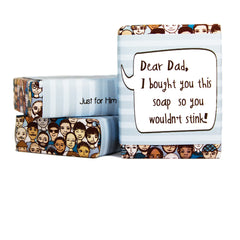 Dear Dad Gift Soap