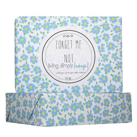 Forget Me Not Bar Soap