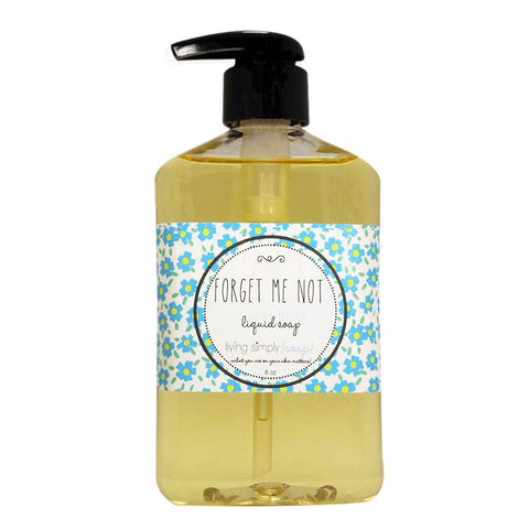 Forget Me Not Liquid Soap