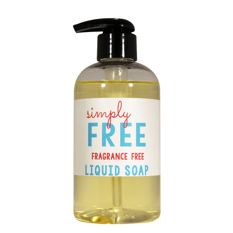 Fragrance Free Liquid Soap