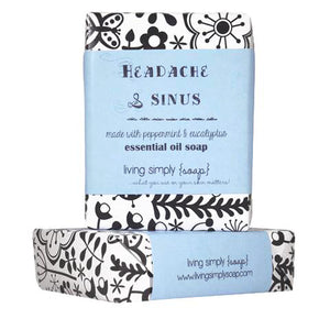 Headache and Sinus Essential Oil Soap