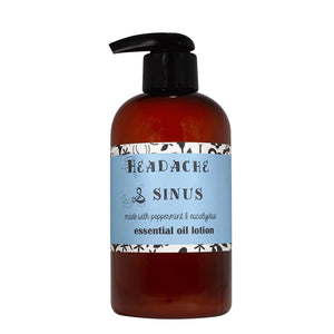 Headache and Sinus Essential Oil Lotion