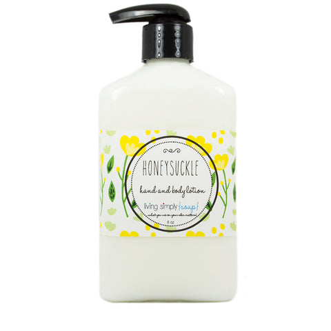 Honeysuckle Lotion