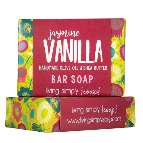 Jasmine Vanilla Soap Wrapped