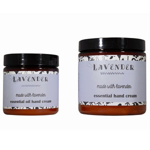 Lavender Essential Oil Cream