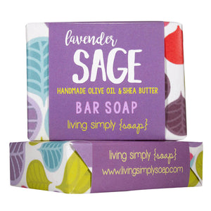Lavender Sage Bar Soap