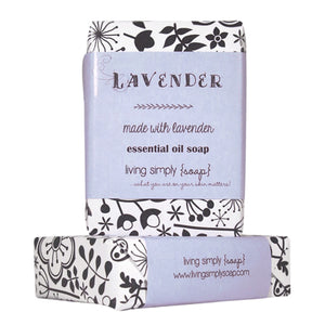 Lavender Essential Oil Bar Soap