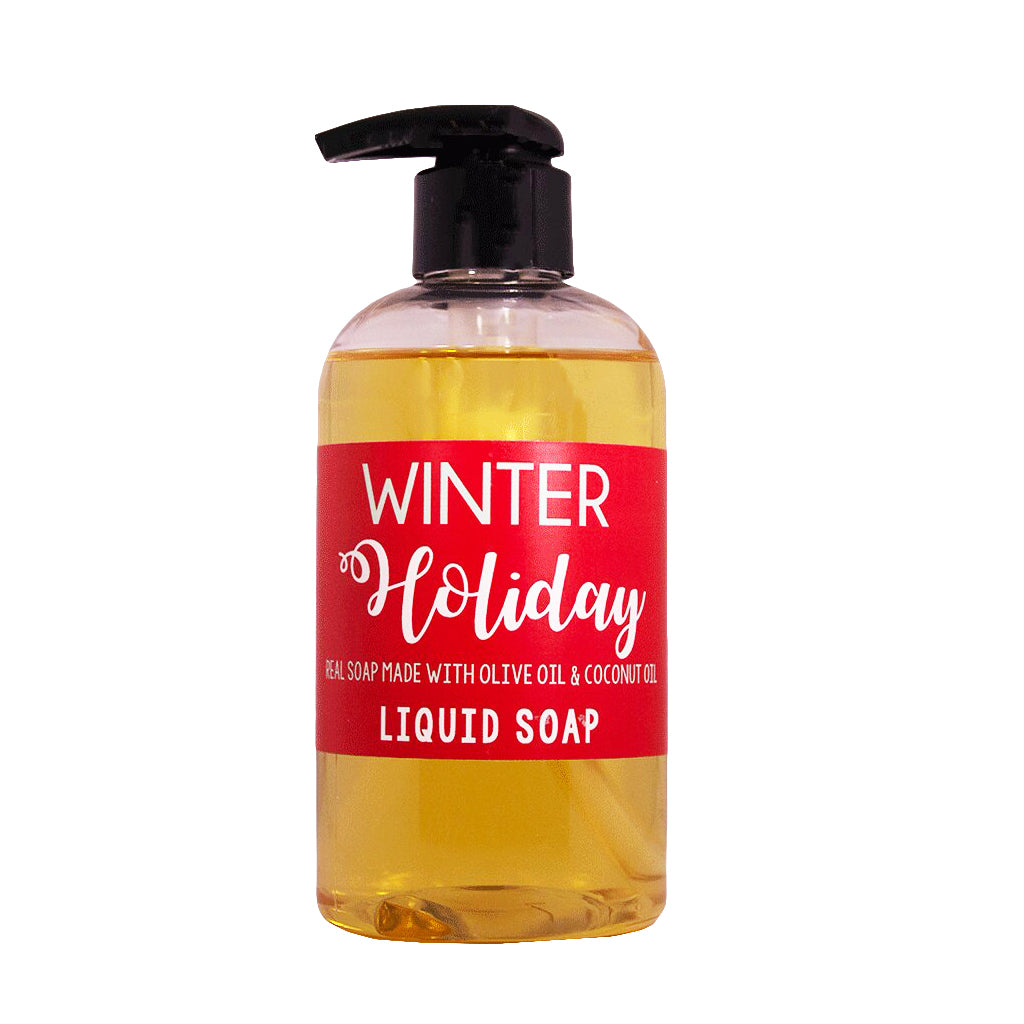 Winter Holiday Liquid Soap