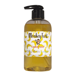 Monkey Fart Liquid Soap