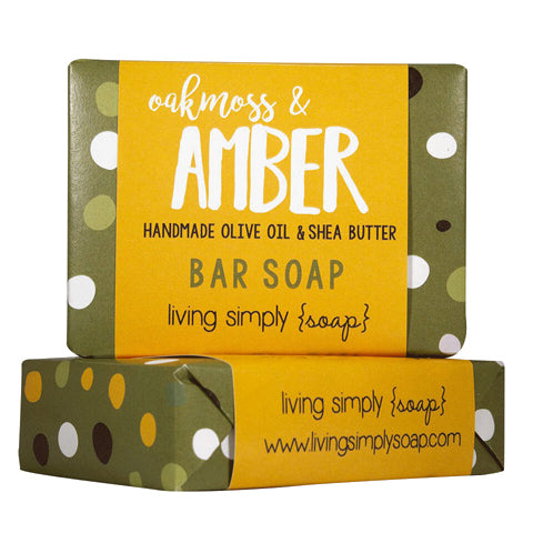 Oakmoss and Amber Bar Soap