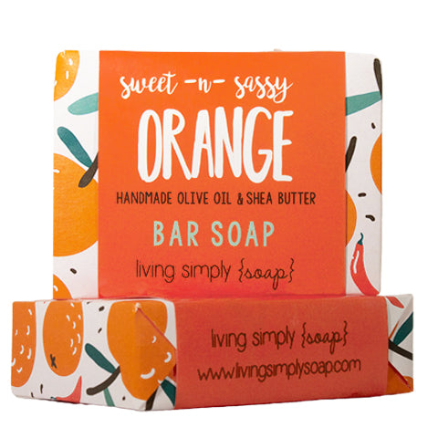 Sweet & Sassy Orange Bar Soap