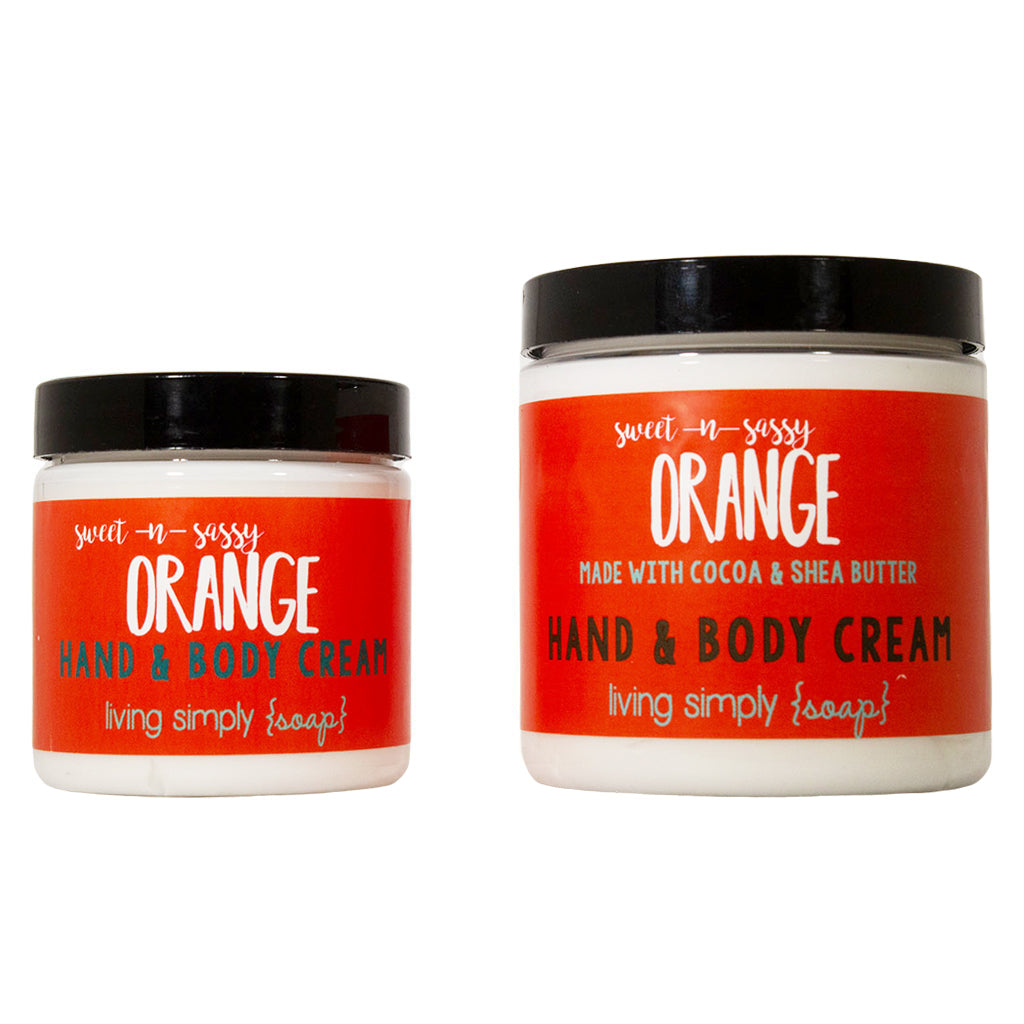 Sweet & Sassy Orange Cream