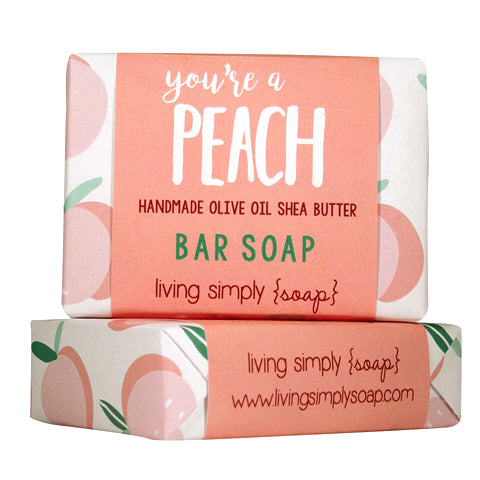 Peach Bar Soap