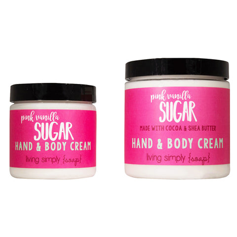 Pink Vanilla Sugar Cream