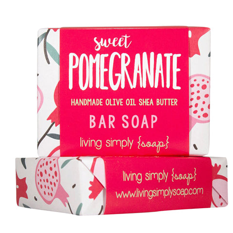 Sweet Pomegranate Bar Soap