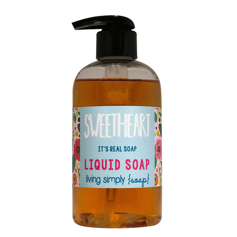 Sweetheart Liquid Soap