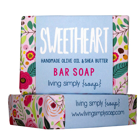 Sweetheart Bar Soap