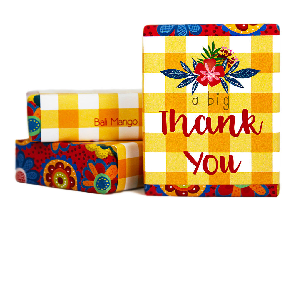 A Big Thank You Gift Soap