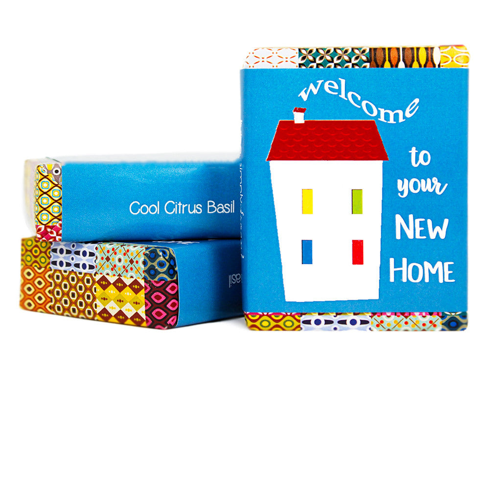 Welcome To Your New Home Gift Soap Living Simply Soap