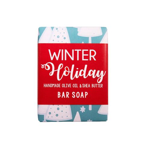 Winter Holiday Bar Soap