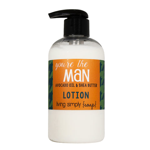 You're the Man Lotion