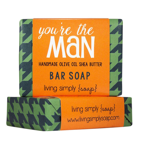 You're the Man Bar Soap