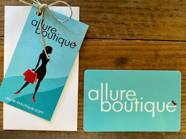 allure boutique gift card