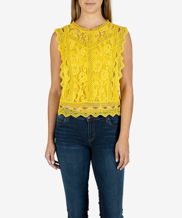 stella lace top