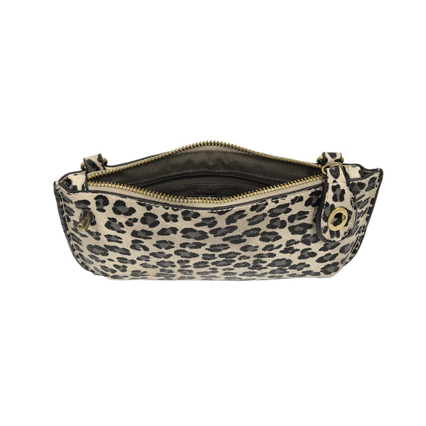 leopard crossbody wallet