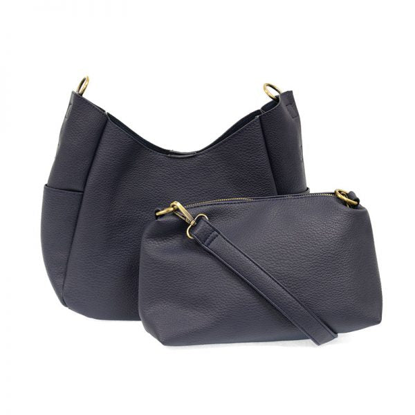 hadley hobo bag - navy