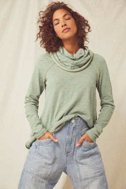 cocoon cowl pullover