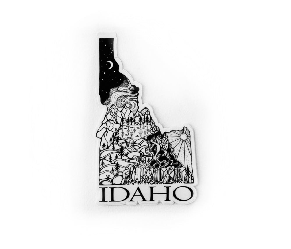 "Load image into Gallery viewer, Idaho State  4"" sticker"