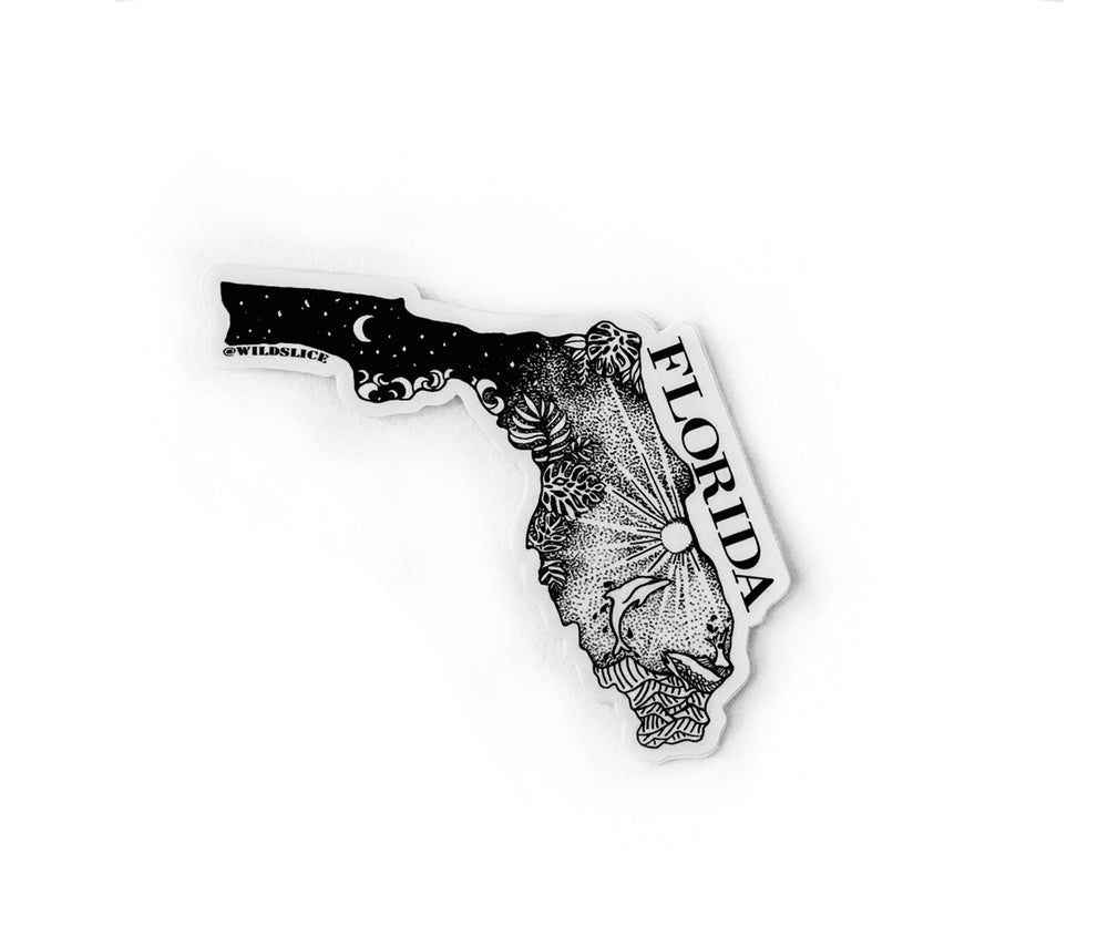 "Florida State  4"" sticker"