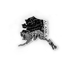 Load image into Gallery viewer, Alaska state 4""