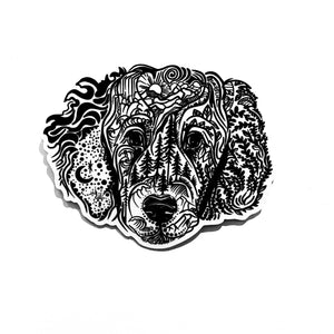 Load image into Gallery viewer, Poodle Goldendoodle Labradoodle Dog Sticker