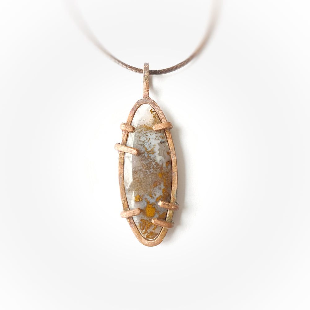 Load image into Gallery viewer, Pendant #5 Moss Agate