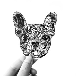 Load image into Gallery viewer, FRENCHIE French Bull Dog Sticker