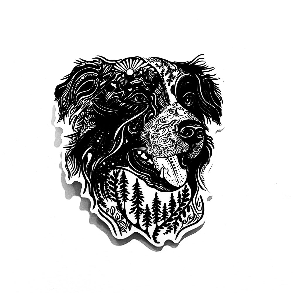 Load image into Gallery viewer, Border Collie Australian Shepard Dog Sticker