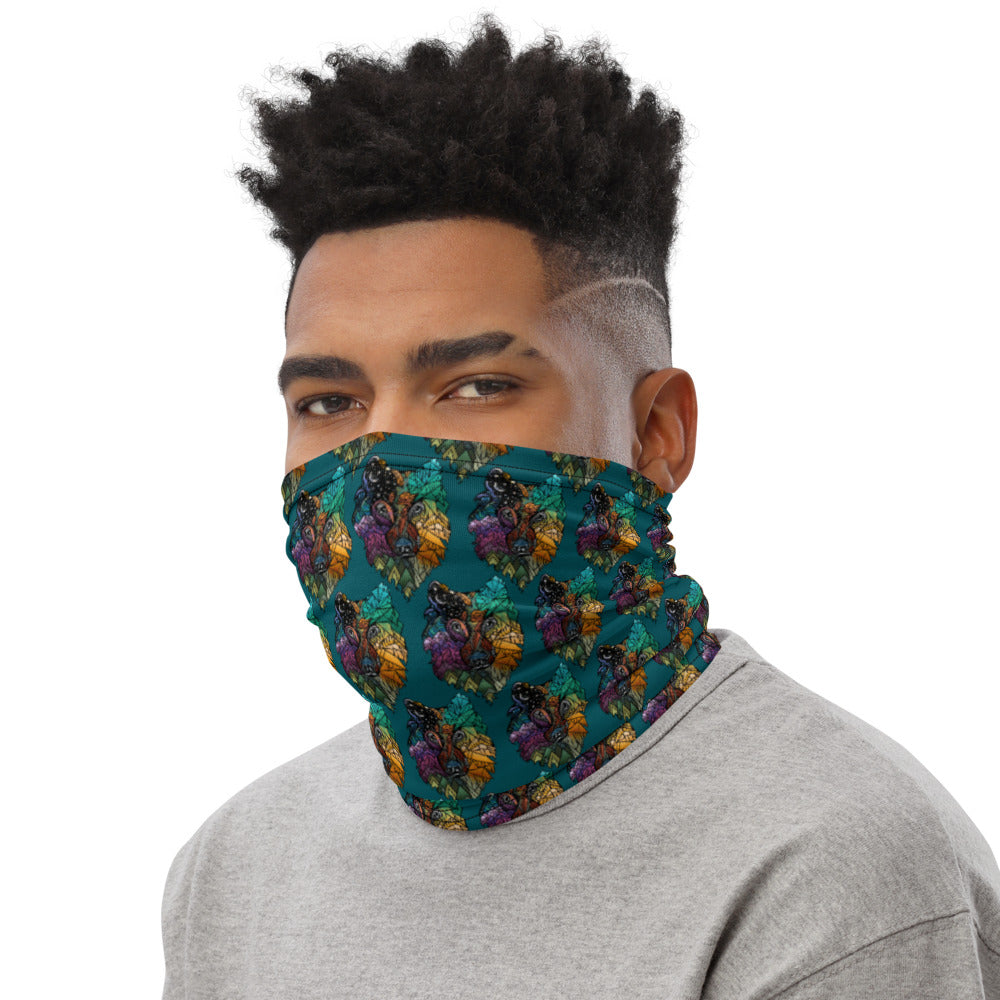 Prism Wolf Neck Gaiter Face Mask