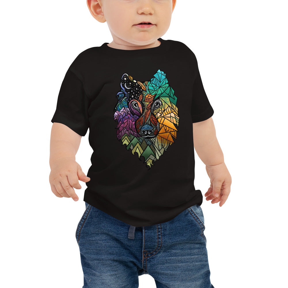 Prism Wolf Baby Jersey Short Sleeve Tee