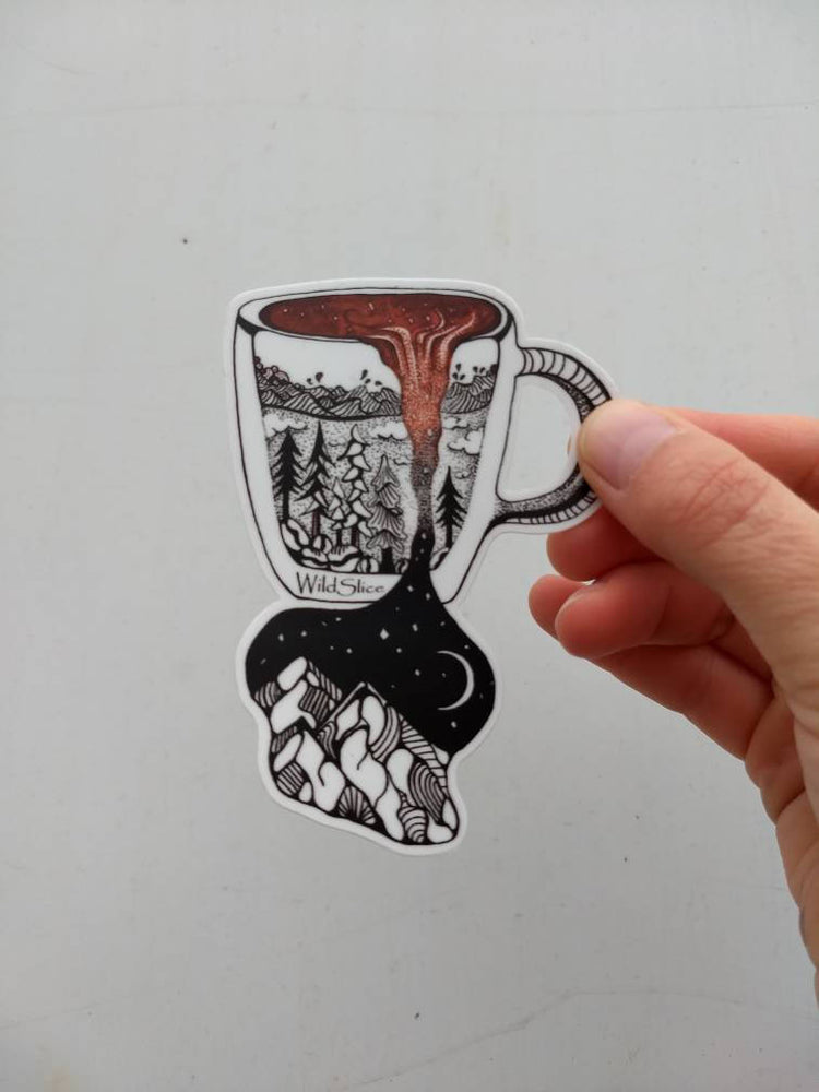 "Load image into Gallery viewer, Wild Brew Sticker 4"" sticker"